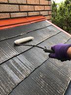 横浜市旭区外壁塗装屋根塗装日本ペイントハイブリット塗料