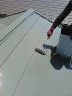 30年7月完了町田市成瀬大屋根塗装、下屋根横暖ル-フ工事