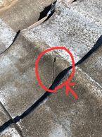 瓦屋根雨漏り箇所