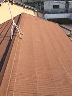 足立区瓦からエコグラ-ニ葺き替え工事