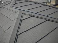 東京都小平市 本瓦からエコグラ-ニ葺き替え工事