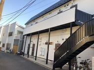 厚木市アパ-ト屋根塗装。外壁塗装。シリコン打ち直し工事