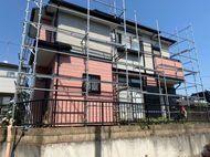 神奈川県厚木市屋根カバー工法、外壁塗装日本ペイントパーフェクトトップ